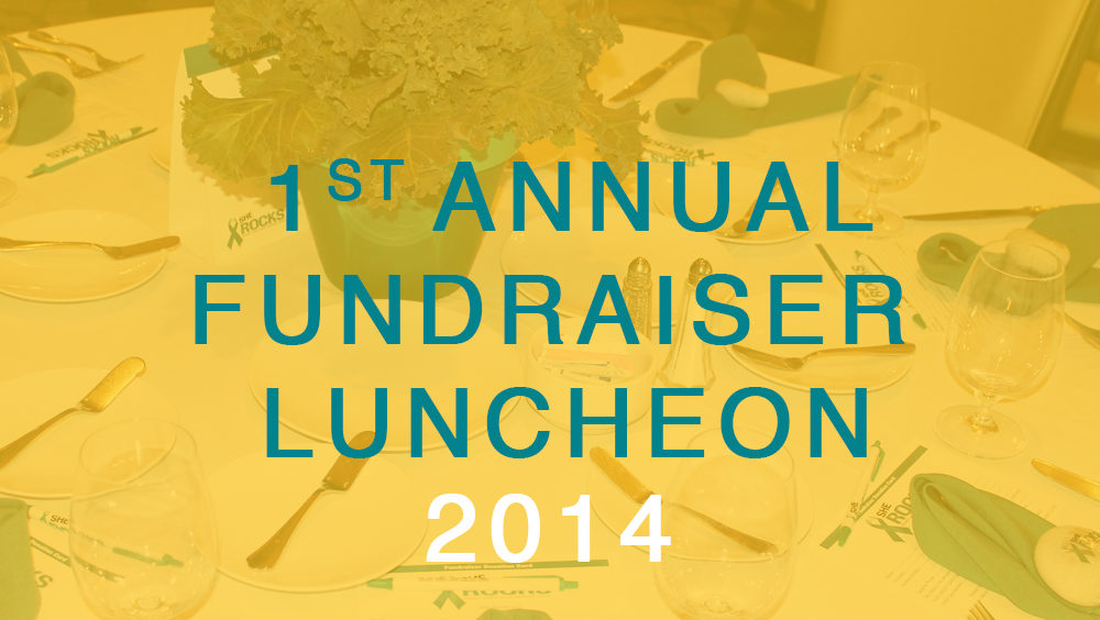 1st Annual Luncheon